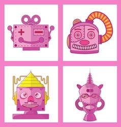 03 Head Robot Design vector