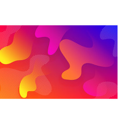 abstract fluid color pattern background vector image