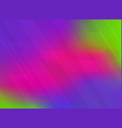 Abstract lines pattern technology on vivid color vector