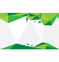 Background Triangle Green vector image