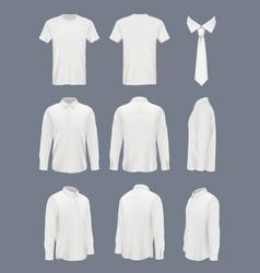 business shirt for men male luxury shirt vector image