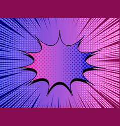 Comic duel concept vector