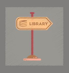 Flat shading style icon sign library vector