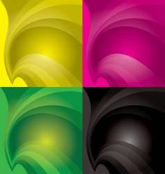 Swish backgrounds vector
