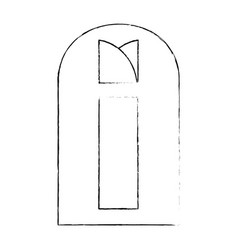 Window isolated image vector