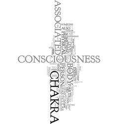 Your body is a map of your consciousness text vector