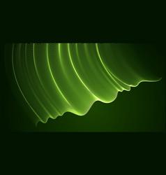 3d magic particles mesh array over dark vector image