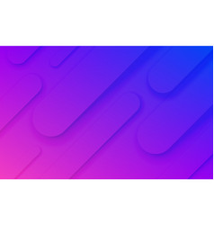 abstract fluid neon pattern background vector image