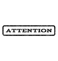 Attention watermark stamp vector