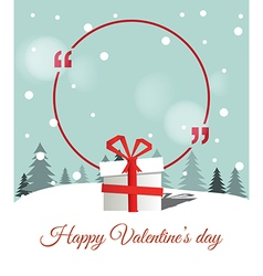 Copy Space for Valentines Day vector image