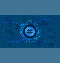 Reserve rights token rsr token symbol defi vector