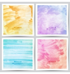 Watercolor texture vector