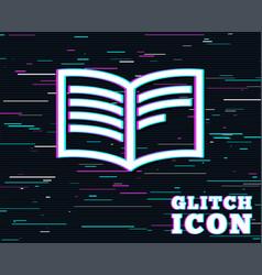 Book sign icon open book symbol vector