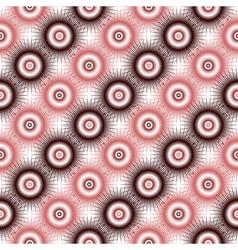 Design seamless diagonal pattern vector image