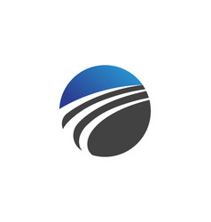Faster c logo template design vector