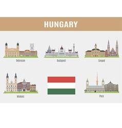 Hungary vector image