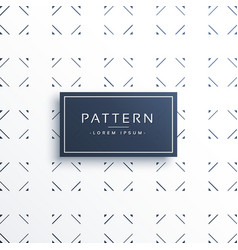 Minimal clean line pattern background vector