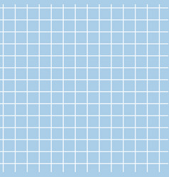 Seamless pattern blue ceramic tile vector