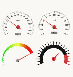 speedometer measuring scale speed test download vector image
