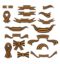 St George ribbon color web icon vector image