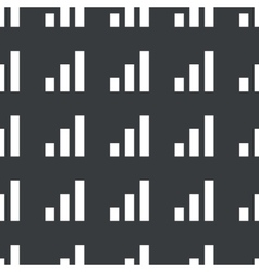 Straight black volume scale pattern vector