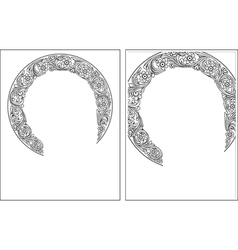 Nimbus1-2 outline picture vector image vector image