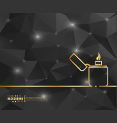abstract creative concept line draw vector image