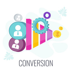 Conversion rate optimization potential customer vector