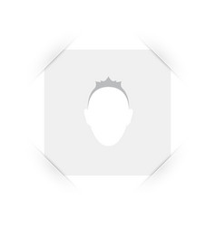 Default placeholder male avatar profile dummy vector