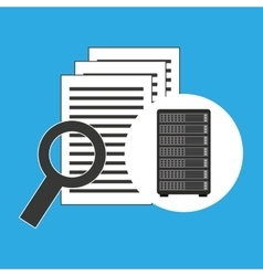 Network server concept document search vector