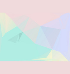 pastel colors inspired from 80s 90s vector image
