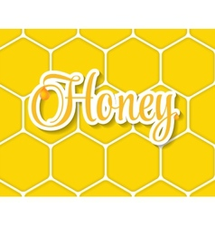 Sweet Honey Background vector