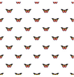 Wandered butterfly pattern seamless vector