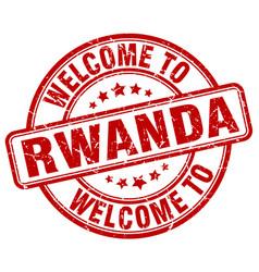 Welcome to rwanda vector