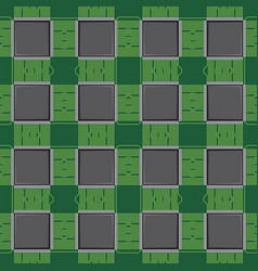background pattern with computer microchip vector image