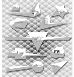 Geometric elements set vector image