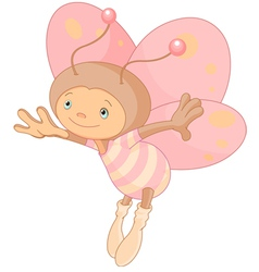 Cute butterfly vector image vector image