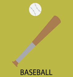 Baseball sport icon vector