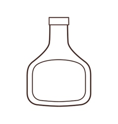Bottle plastic ingredient cooking restaurant thin vector