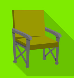 Chair and folding symbol vector