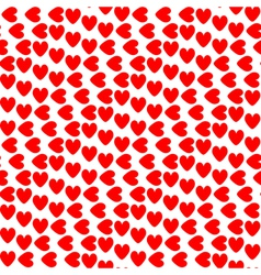 Design seamless colorful heart pattern vector image