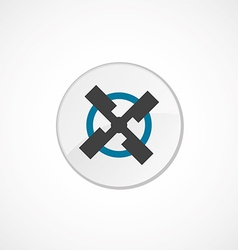 mill icon 2 colored vector image