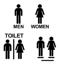 Toilet icon for public bathroom vector