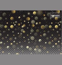 white sparks stars glitter special light effect vector image vector image