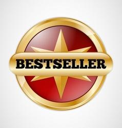 Bestseller badge vector