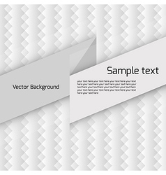 Simple abstract pattern vector image vector image