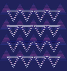 90s retro background pattern vector image