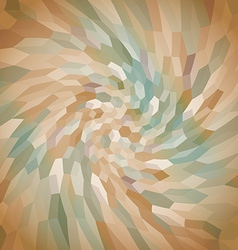 Abstract twisted background vector