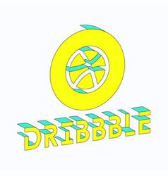 Artdribbble isometric vector