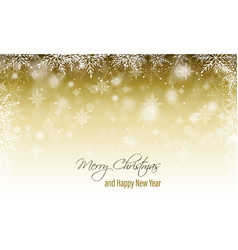 Christmas and new year wishes winter blurred vector